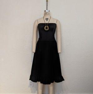 Dresses & Skirts - Strapless Dropwaist Cocktail Dress